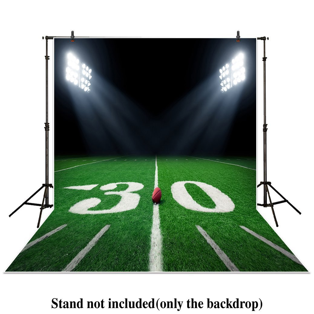 Printed Vinyl Backdrop Birthday Cake Table Backdrop Football Player Party Backdrop Football Personalized Photo Backdrop Sports Backdrop