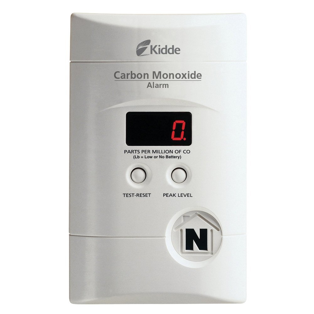 Kidde 900-0076-01 AC Powered, Plug-In Carbon Monoxide Alarm