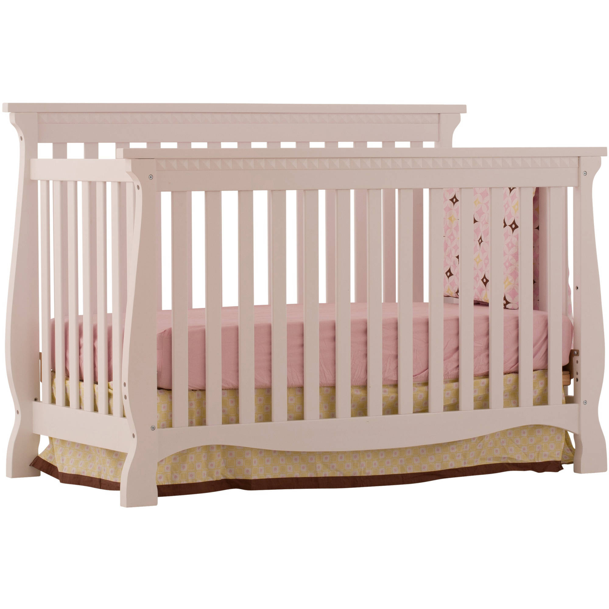 storkcraft venetian 4 in 1 convertible crib white