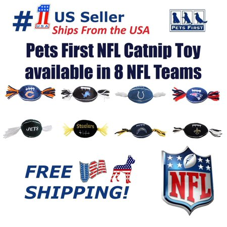 Pets First NFL Indianapolis Colts Catnip Toy, Licensed, Plush, polyfilled Cat - Licensed Colt