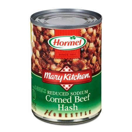 (2 Pack) Hormel Mary Kitchen Reduced Sodium Corned Beef Hash, 14