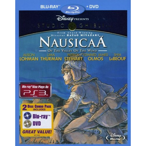 Nausicaa Of The Valley Of The Wind (Blu-ray + DVD) (Widescreen)