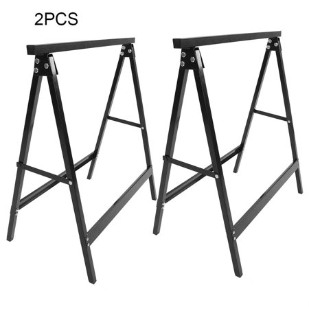 Incredible Walfront Portable Folding Saw Horse Lightweight Heavy Duty Saw Stand 2 Pack Cutting Trestle Work Bench Logs Support Beatyapartments Chair Design Images Beatyapartmentscom