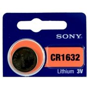 Sony CR1632 3 Volt Lithium Coin Watch Batteries (3 Batteries)