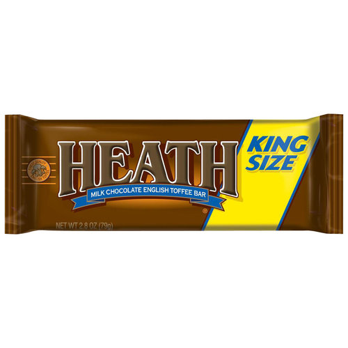 Heath King Size Milk Chocolate English Toffee Bar, 2.8 oz