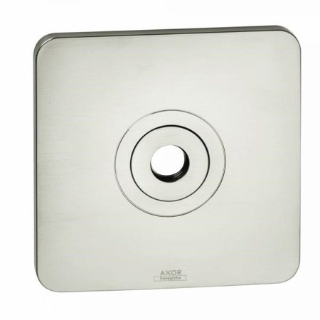 Hansgrohe 34612821 Axor Citterio M Wall Plate For Showerhead/Arm, Brushed Nickel