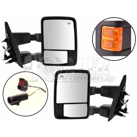 2003 – 2007 Ford F250 F350 F450 F550 Power Heated Tow Mirrors -