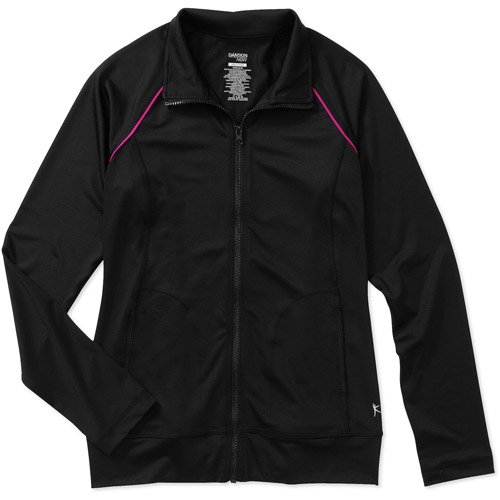 Danskin Now Women's Raglan Piped Track Jacket