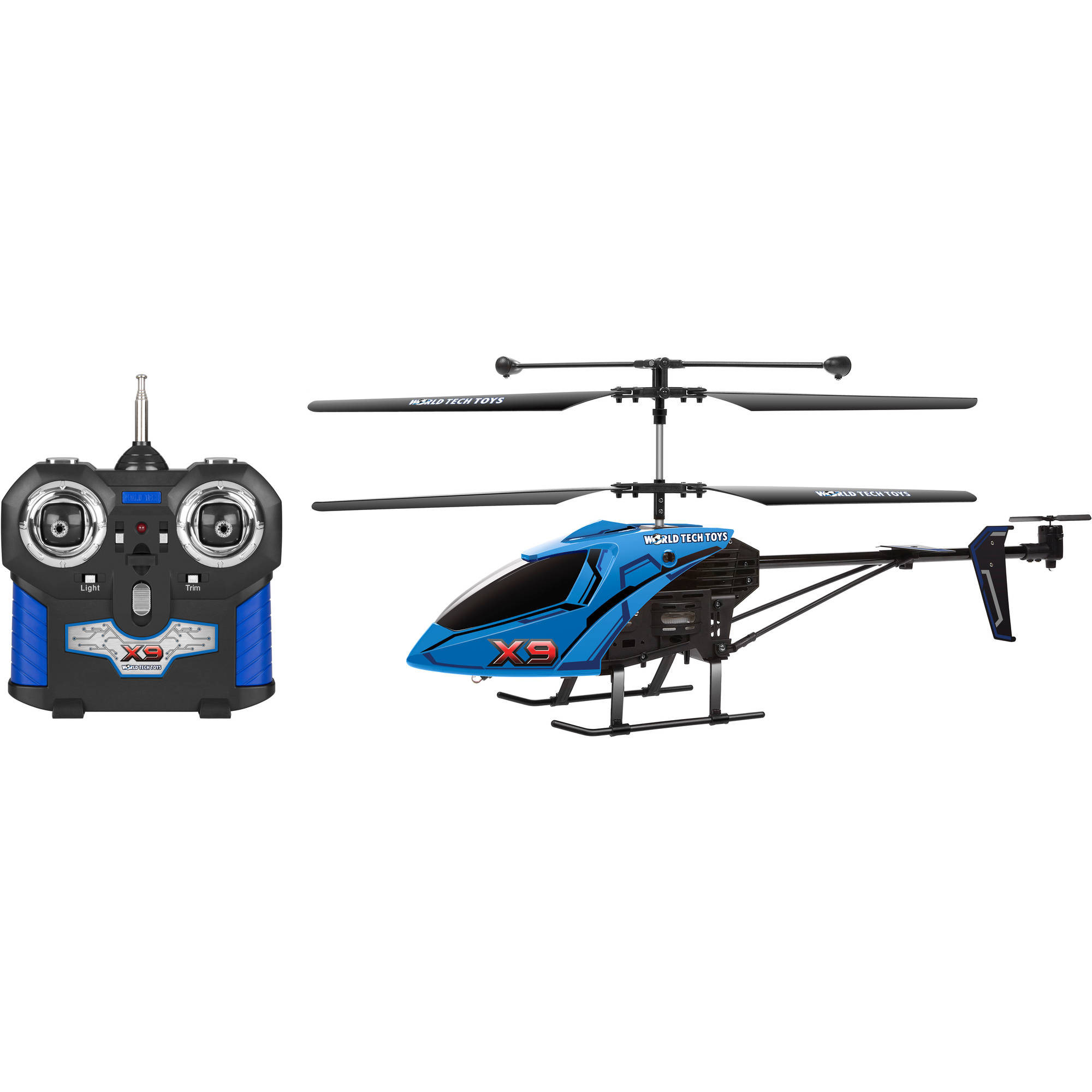 World Tech Toys 3CH X9 Remote Control Helicopter Color may vary by World Tech Toys
