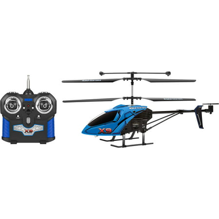 World Tech Toys 3Ch X9 Remote Control Helicopter   Color May Vary