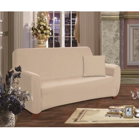 Furniture Jersey STRETCH SLIPCOVER, Sofa Linen, Great covers for any room  By Elegant Comfort