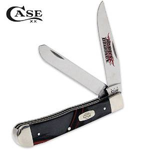 Case Cutlery CA52096 Trapper Lava Kirinite Harley 10254SS Pattern Hunting Knives