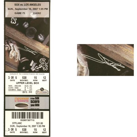 Jim Thome Chicago White Sox Fanatics Authentic Autographed 500th HR Game Mega Ticket - No Size