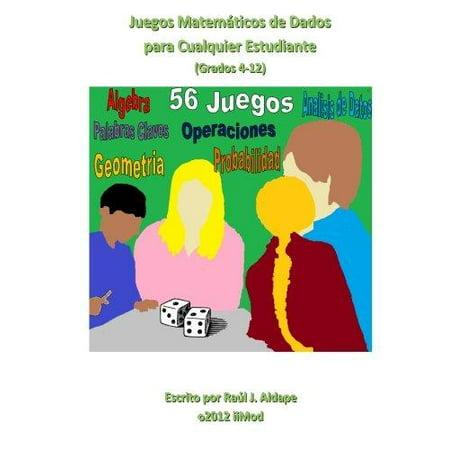 Juegos Matematicos De Dados Para Cualquier Estudiante  Grados 4 12