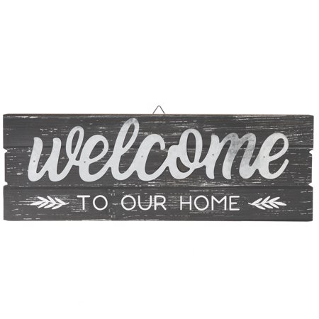 Way To Celebrate Decorative Wall Art, Welcome to Our Home, 23