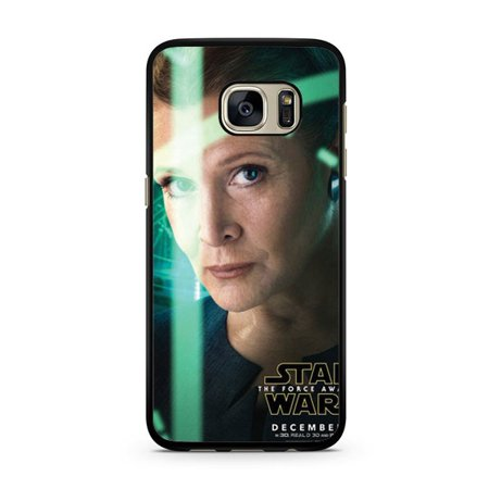 Star Wars The Force Awakens Leia Poster Galaxy S7 Edge
