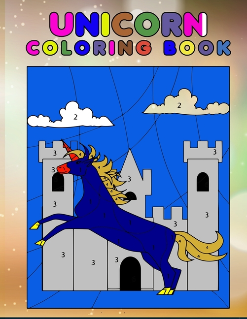 Unicorn Coloring Book: My First Toddler Coloring Book ...