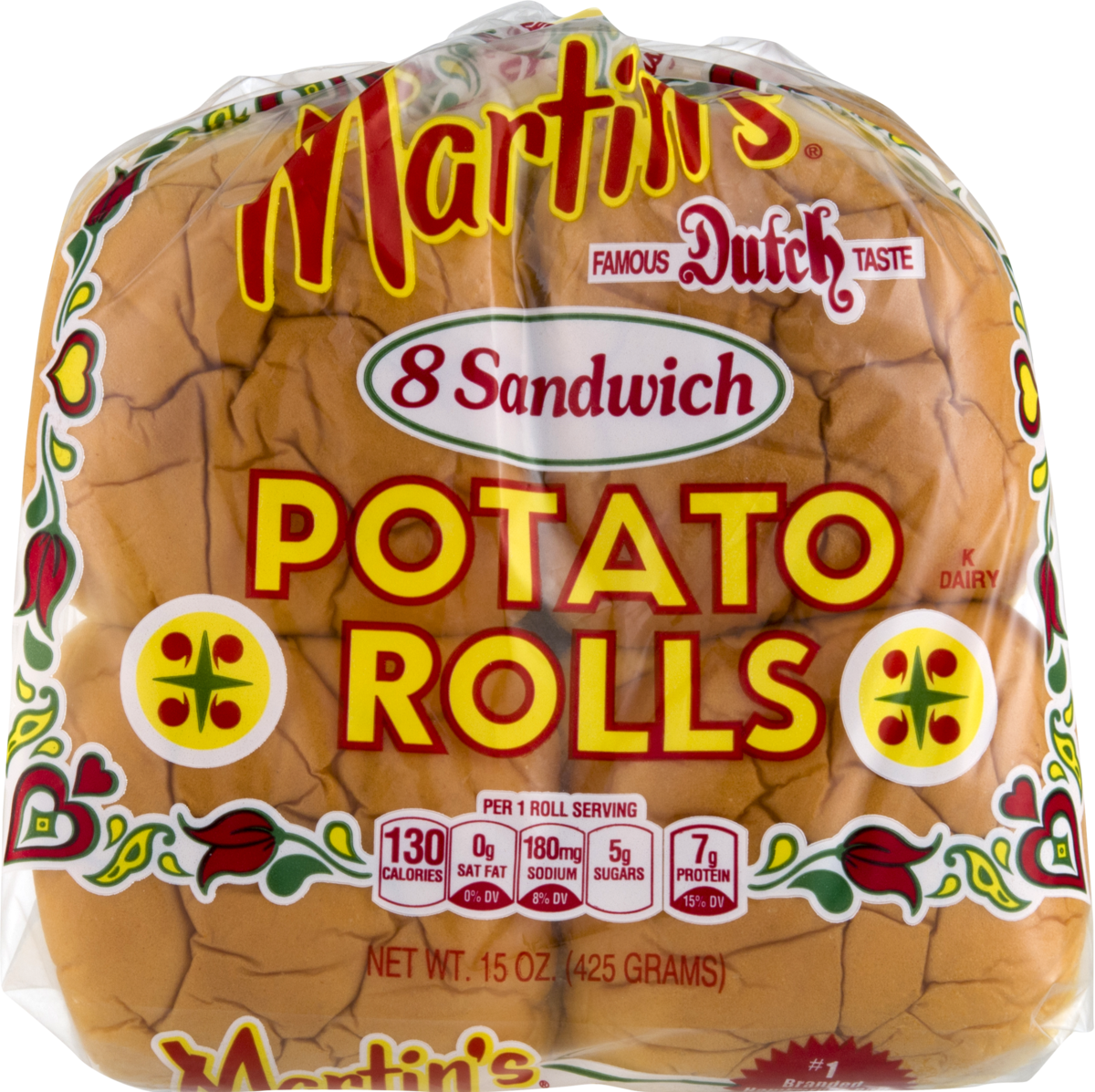 Martin's Potato Rolls 8 Ct. Sandwich Rolls (3 Bags)