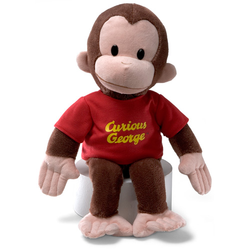 Curious George Plush 16in Red (Other)
