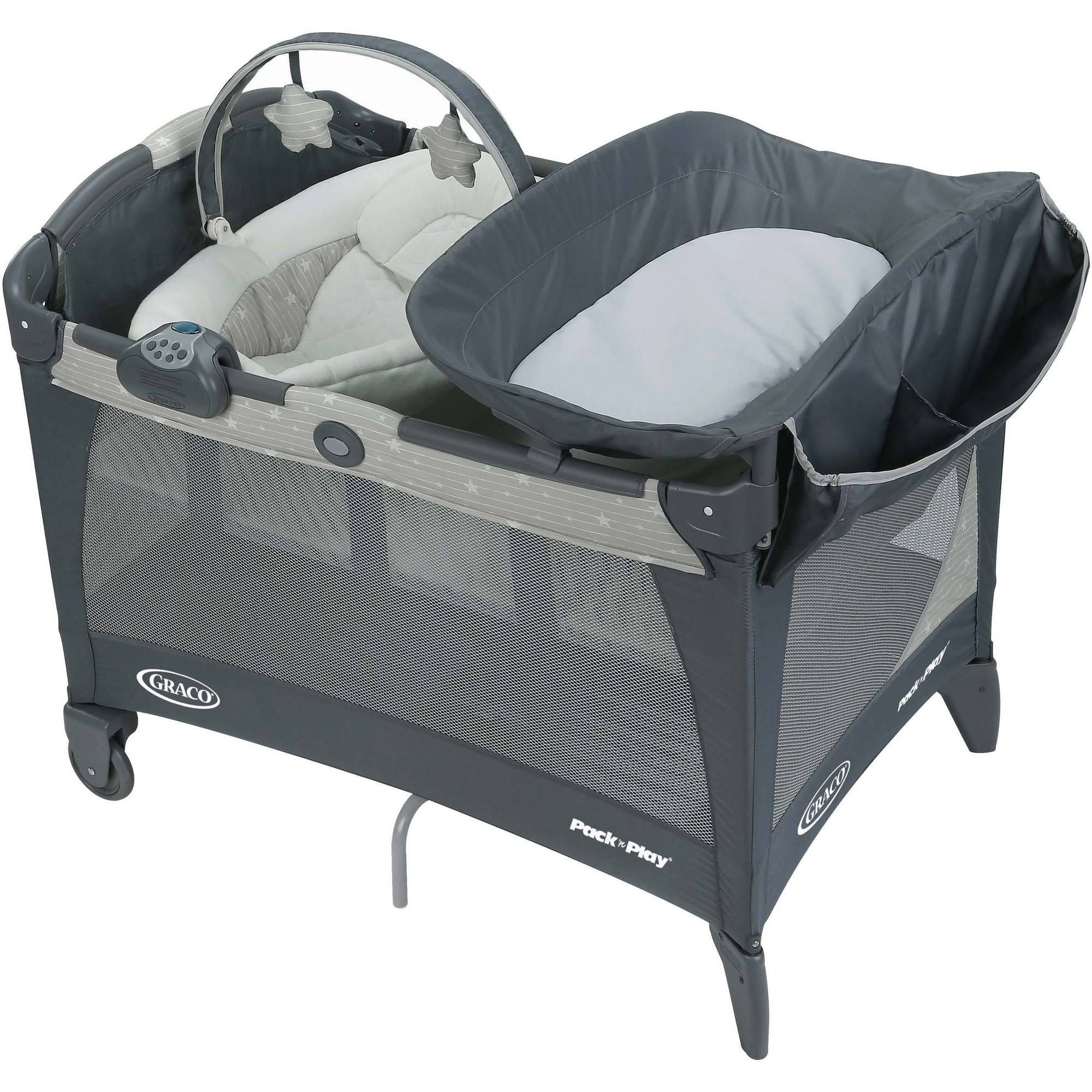 Graco Pack 'n Play with Newborn Napper LX Baby Playard, Stars