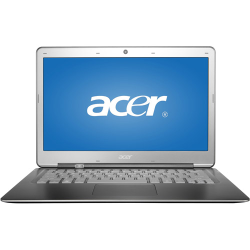 "Acer Ultrabook Silver 13.3"" S3-391-6046 PC with Intel Core i3-2367M processor and Windows 8 Operating System"