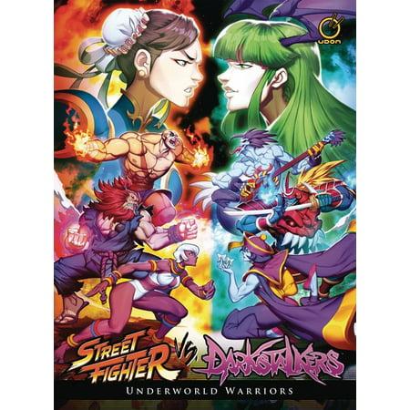 Street Fighter Vs Darkstalkers: Underworld Warriors (Hardcover)