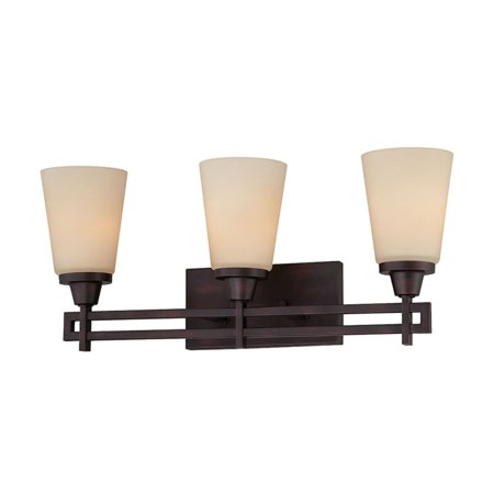 ELK Lighting Wright 3 Light Contemporary Bathroom Vanity Light Bracket Contemporary Bathroom Light