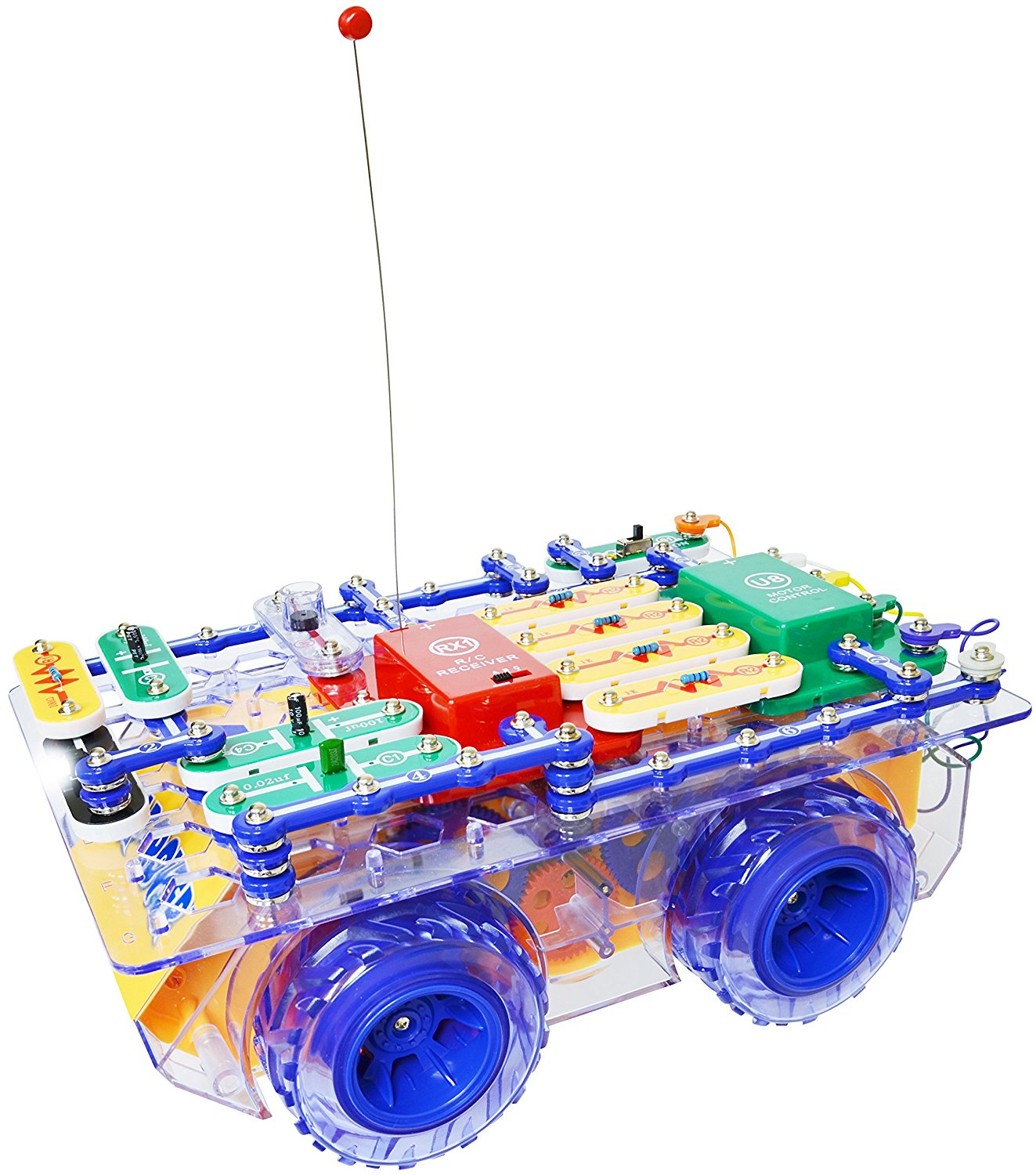 Elenco Snap Circuits Rc Rover Lights Walmartcom