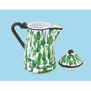 Dollhouse Coffee Pot Flow Green