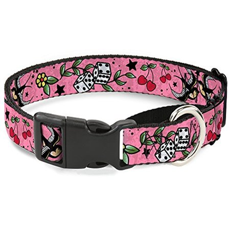 Wide Martingale Collar - Buckle-Down