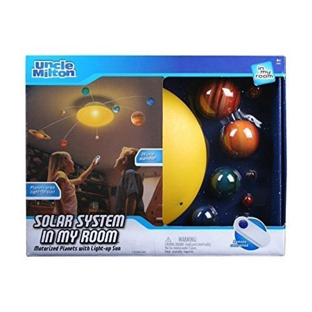Uncle Milton Solar System In My Room IR Remote Control With Built-in Light (Best Lighting Control System)