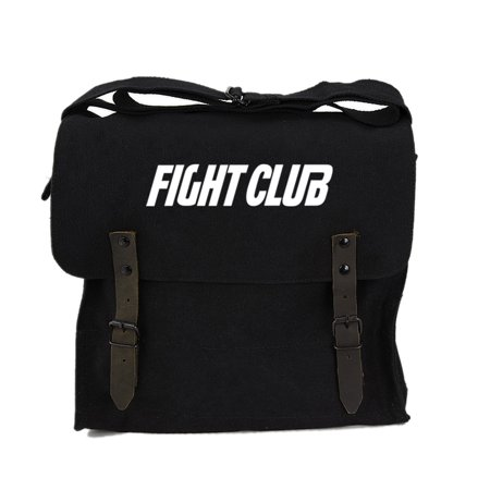 FIGHT CLUB Fighting Boxing Heavyweight Canvas Medic Shoulder Bag in