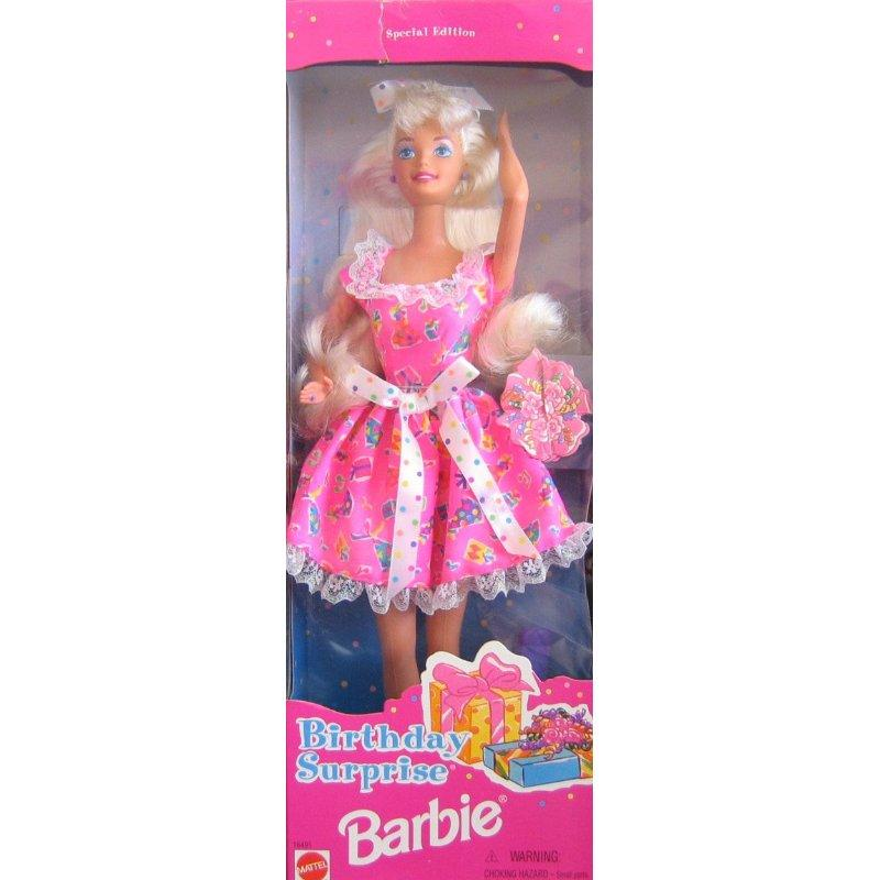 Mattel Birthday Suprise Barbie Doll
