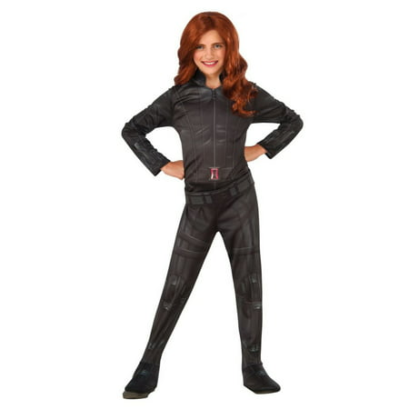 Halloween Kids Black Widow Child Costume - Black Widow Marvel Costumes