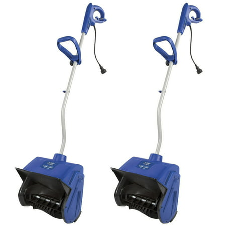 "Snow Joe 13"" 10 Amp Motor Handle Corded Electric Snow Removal Shovel (2 Pack)"