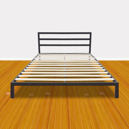 Zimtown Sturdy Bed Frame Full Size Easy Set Up Premium