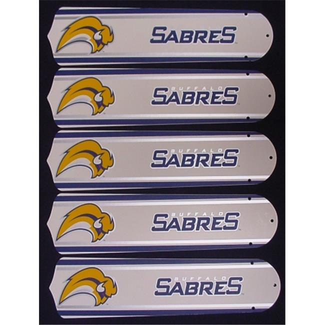 Ceiling Fan Designers 52SET-NHL-BUF New NHL BUFFALO SABRES 52'' Ceiling Fan BLADES ONLY