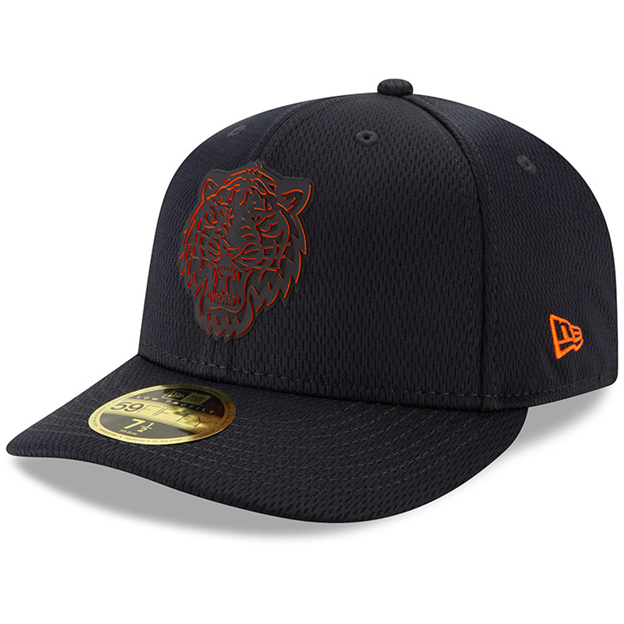 Detroit Tigers New Era 2019 Clubhouse Collection Low Profile 59FIFTY Fitted Hat - Black
