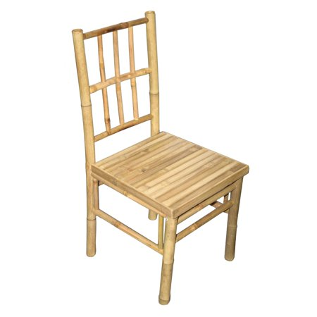Bamboo54 Bamboo Dining Side Chair - Set of (Antique Bamboo Chair)