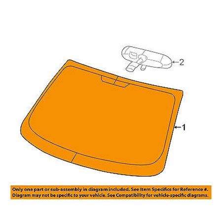Oem Glass Windshield - Dodge CHRYSLER OEM 13-16 Dart-Windshield Glass 68188894AB