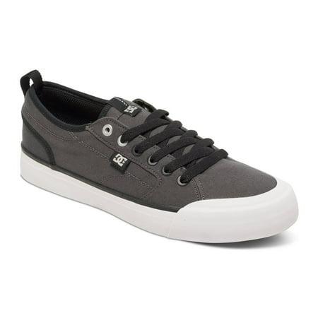 9628dbb719b50a DC - DC Men s Evan Smith TX Low Top Sneakers Grey Textile 11 D - Walmart.com