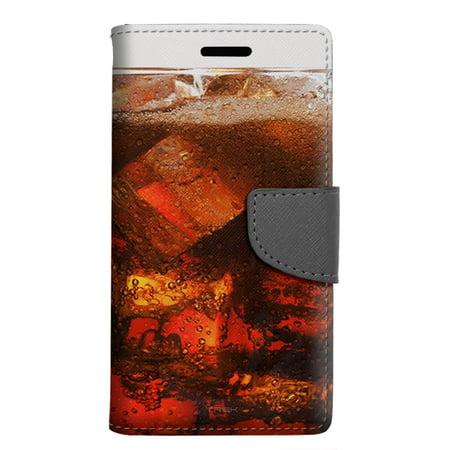 sale retailer 46f70 2a9e8 Apple iPhone SE Wallet Case - Glass Cola Soda Case
