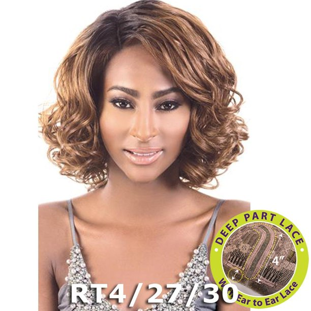 BeShe 4 Deep J-Part Lace Front Wig - LLDP-220 (DX4/27