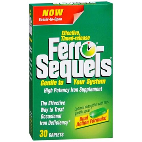 Ferro-Sequels Tablets 30 Tablets (Pack of 4)