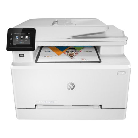 Laserjet Ethernet Copier (HP FACTORY RECERTIFIED COLOR LASERJET PRO M281CDW 22PPM 600X600DPI 270-SHEET DUPLEX 256MB E-PRINT/GBE/USB/WIFI COLOR LASER PRINTER/COPIER/SCANNER/FAX SAME-AS-NEW/1YR )