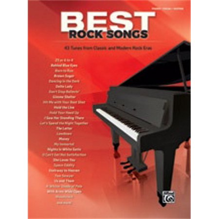 Alfred Best Rock Songs -Piano/Vocal/Guitar