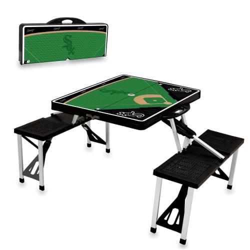 Chicago White Sox Picnic Table - Black - No Size