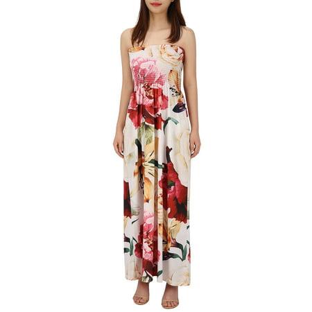 210b611738 HDE - HDE Women's Strapless Maxi Dress Plus Size Tube Top Long Skirt  Sundress - Walmart.com