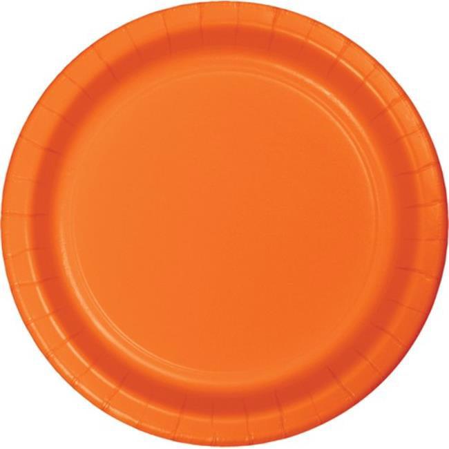 Hoffmaster Group 553282 9 in. Dinner Plate, Orange - 8 per Case - Case of 12 - image 1 of 1