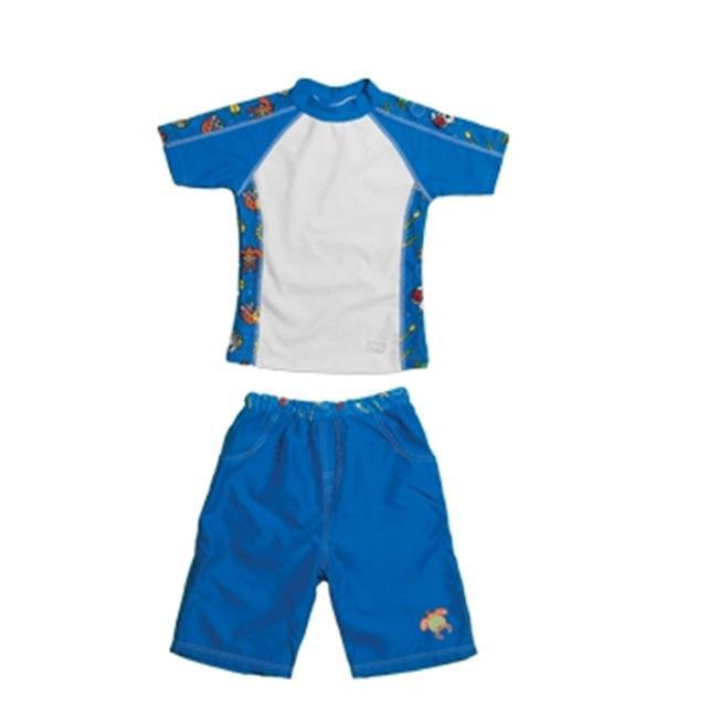 Baby Banz Girls Rash Guard and Board Shorts Set